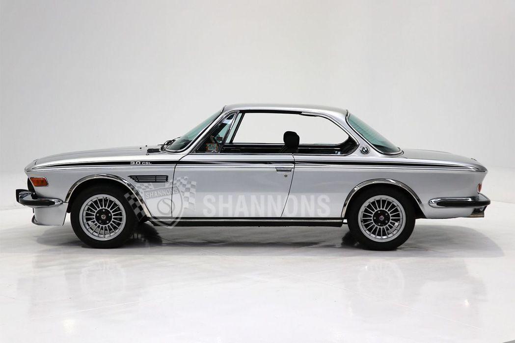 經典傳奇BMW 3.0 CSL Coupe。 圖/截自網路