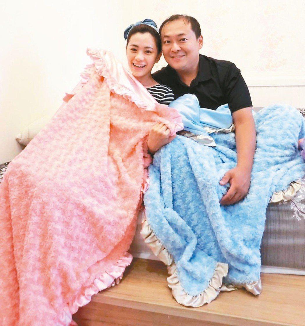 柯以柔(左)和老公郭宗坤婚姻近來陷入危機。圖╱摘自臉書