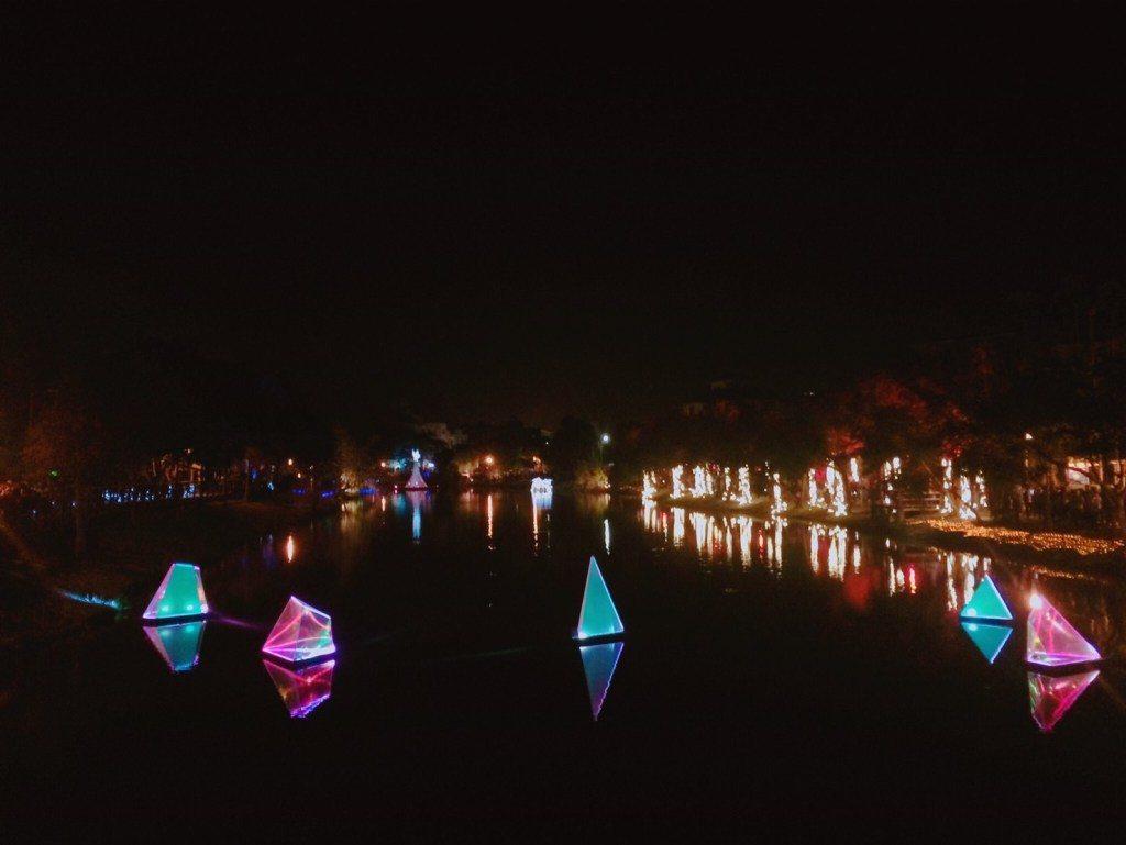 ▲台南鹽水月津港燈節。(圖/Tripbaa趣吧!達人帶路)