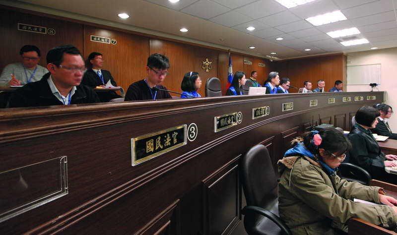 有高院法官認為國民參審其實很適合處理政治案件。 攝影/郭晉瑋