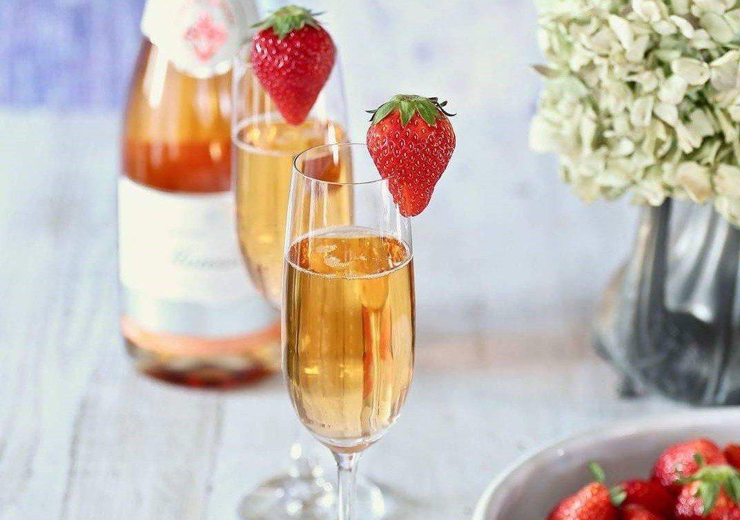 ▲宮城草莓酒。(圖/GRA)