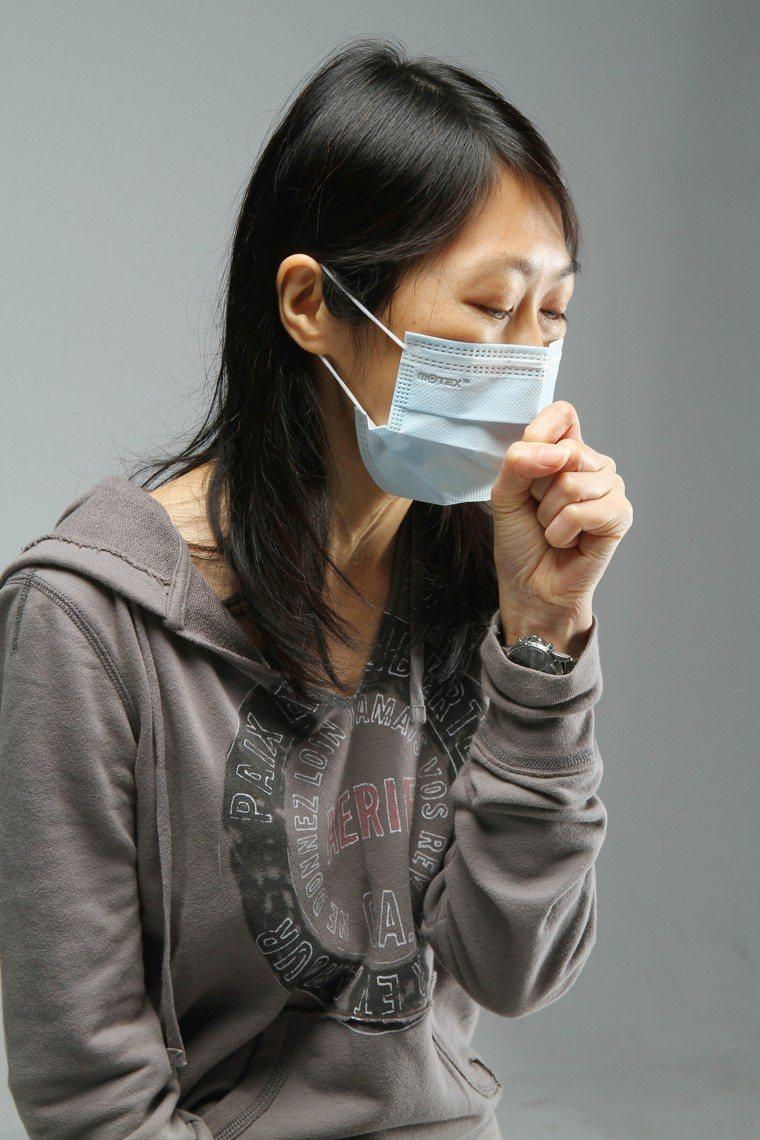 咳嗽示意圖。圖/本報資料照片