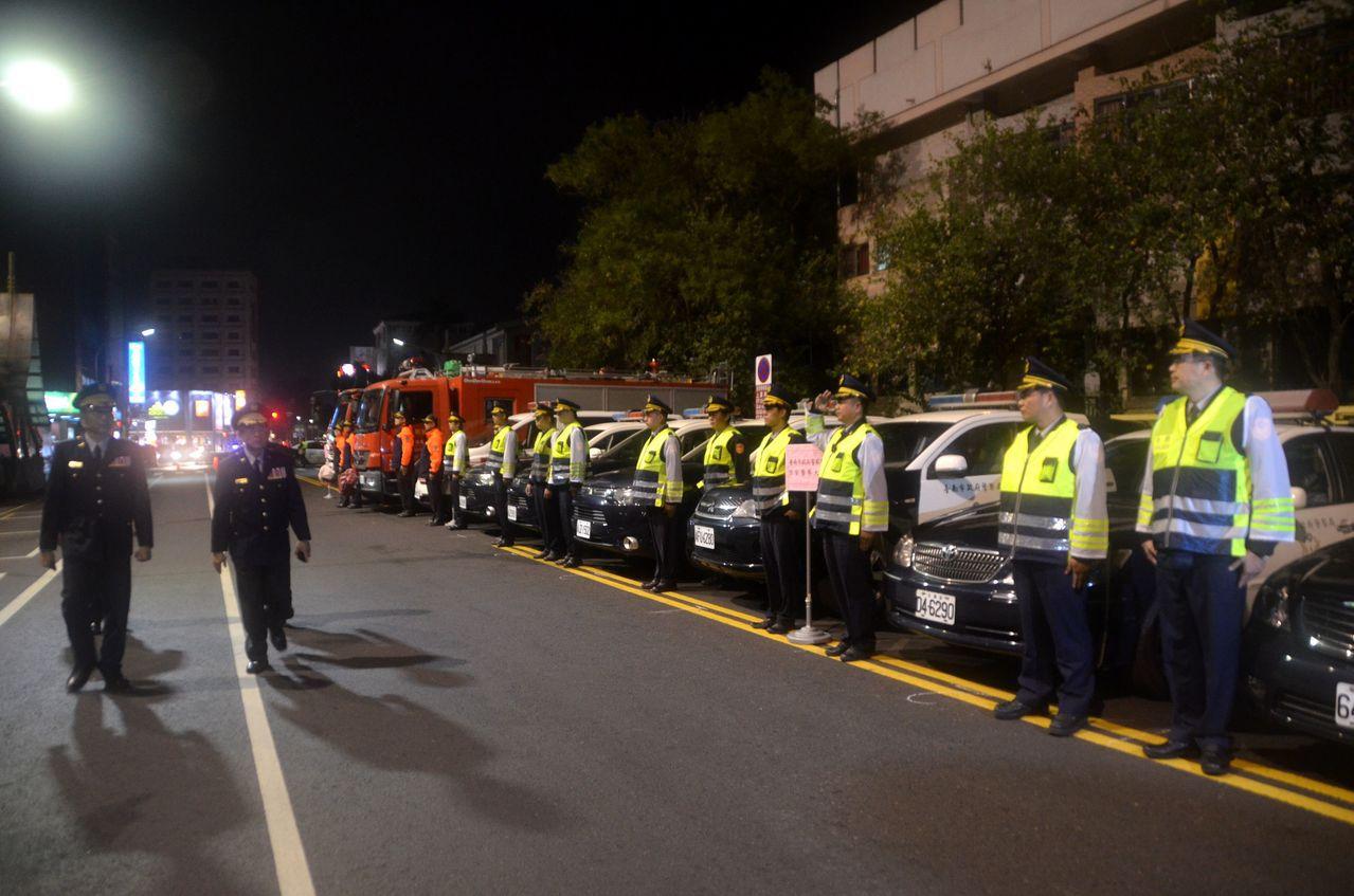 市警局於嶄新的一年開始,期以全民打毒誓師大會,向市民宣誓,將更著重在掃除台南治安...