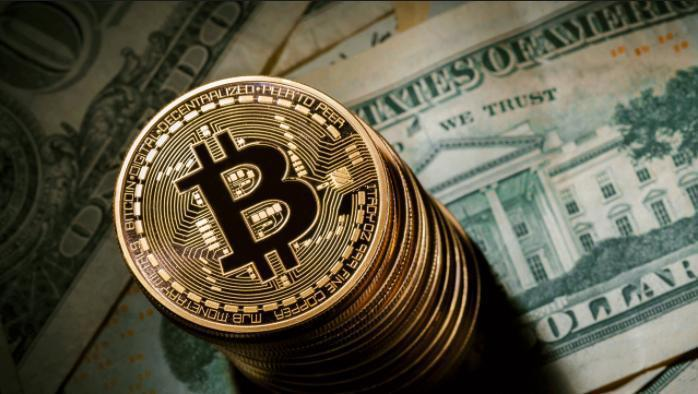 比特幣去年下半年迄今的走勢,如雲霄飛車,暴漲暴跌。 (騰訊科技網)
