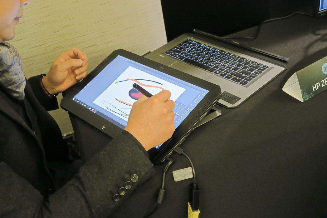 HP ZBook x2 G4,讓工作站能走入行動化、觸控化及多種使用模式,開創工...