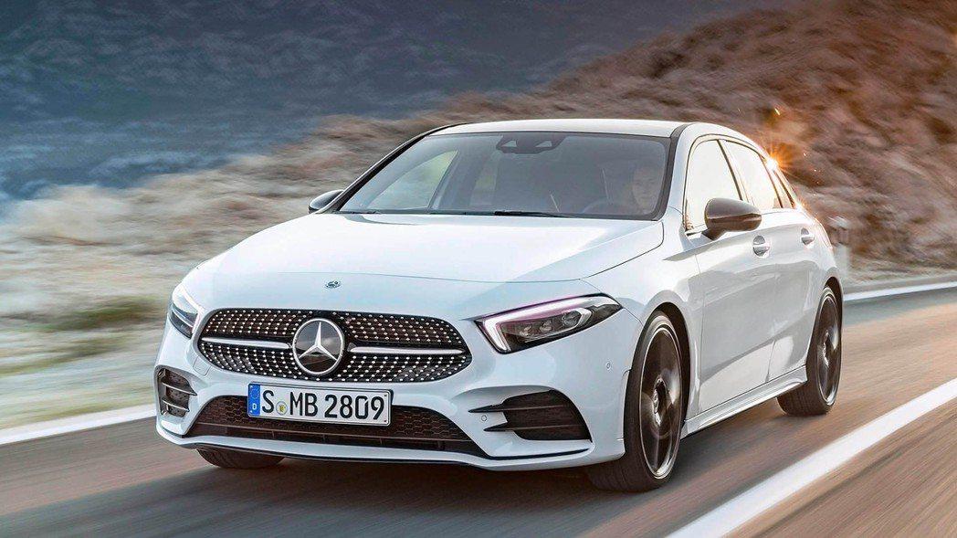 第4代A-Class。 摘自Mercedes-Benz