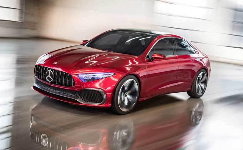 A-Class sedan Concept 摘自 Mercedes-Benz