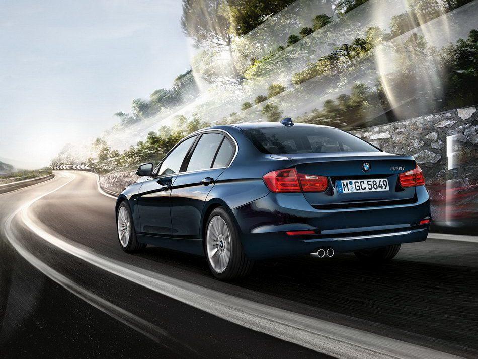 現行BMW 3 Series。 摘自BMW