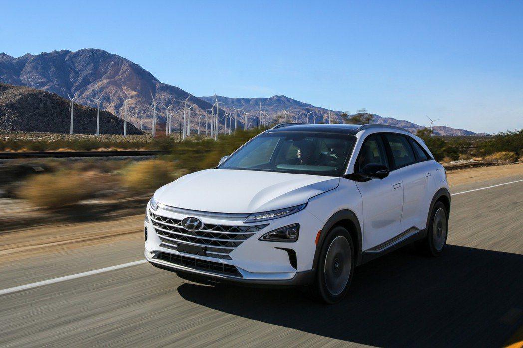Hyundai Nexo 正式亮相。 摘自Hyundai