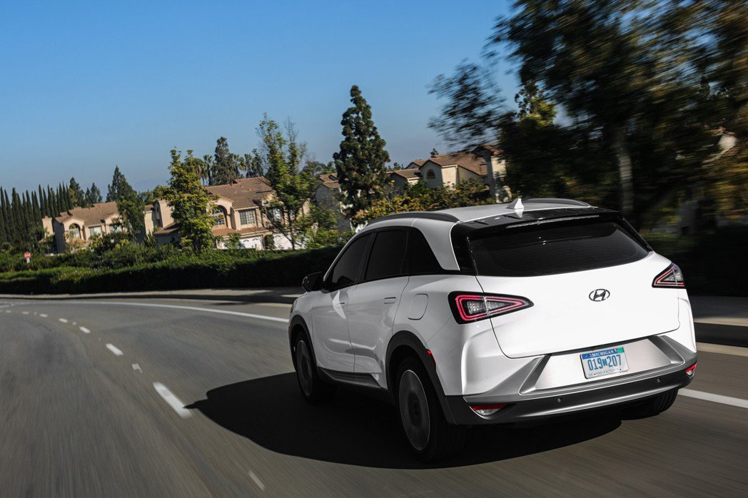 圖為Hyundai Nexo。 摘自Hyundai