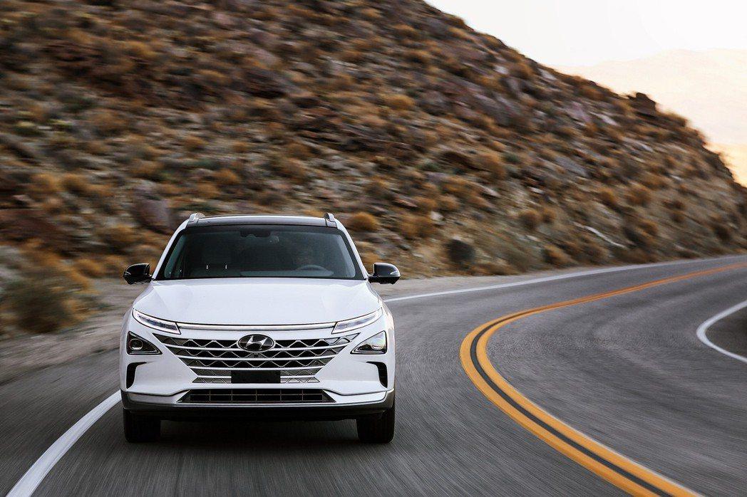 Hyundai Nexo經歷過高海拔、高溫與極地測試。 摘自Hyundai