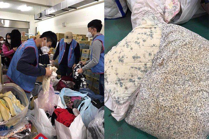 台灣最醜風景:捐發黃髒棉被給花蓮災民?網:當垃圾場喔?
