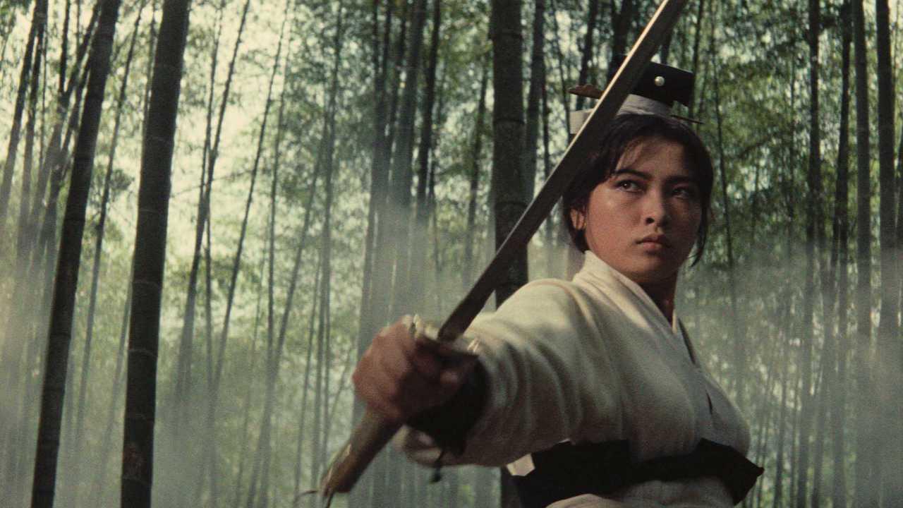 胡金銓執導的「俠女」,是華語武俠片的經典。圖/高雄市電影館提供