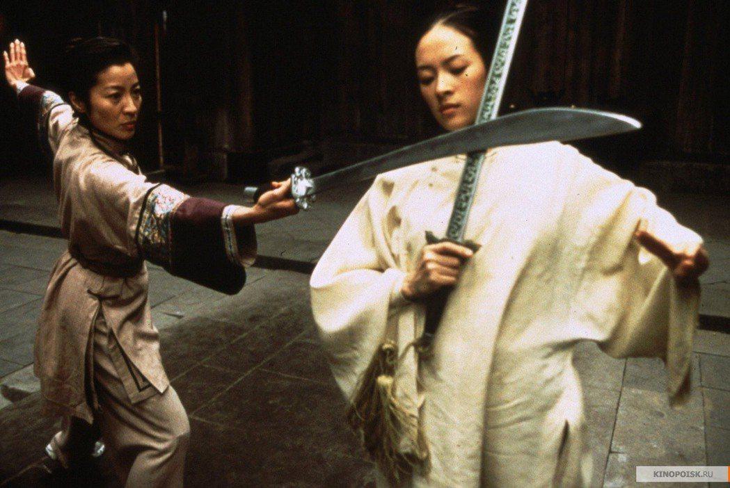 李安執導的「臥虎藏龍」,是華語武俠片的經典。圖/高雄市電影館提供