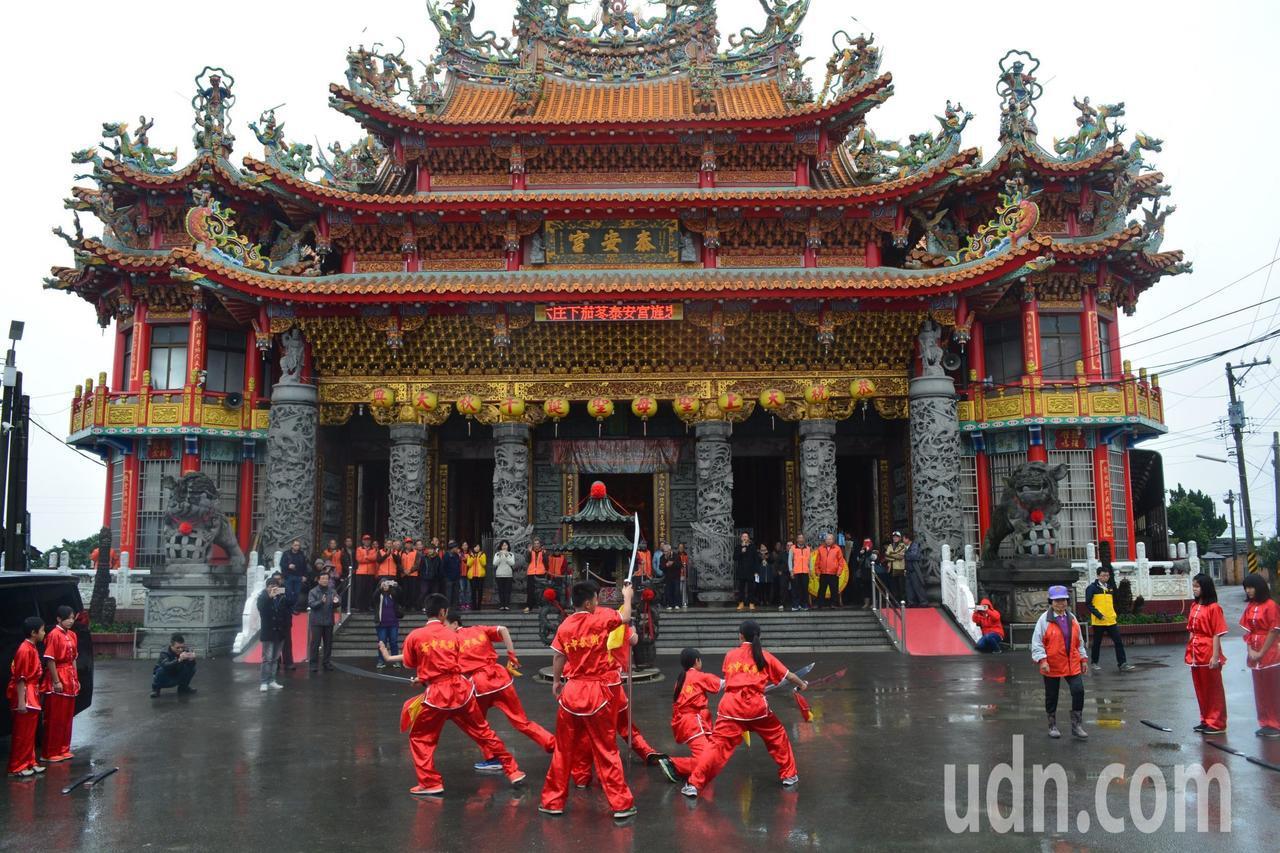 台南後壁泰安宮。記者謝進盛╱攝影