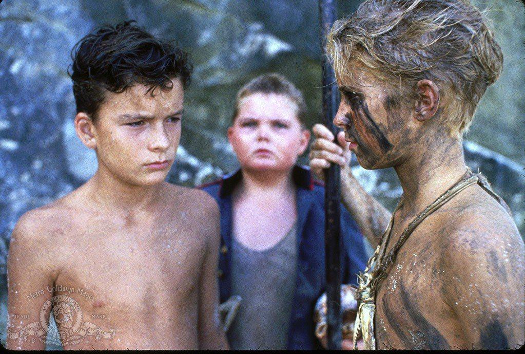 巴薩查蓋提(左)幼年就在電影「蒼蠅王」演主角。圖/摘自imdb