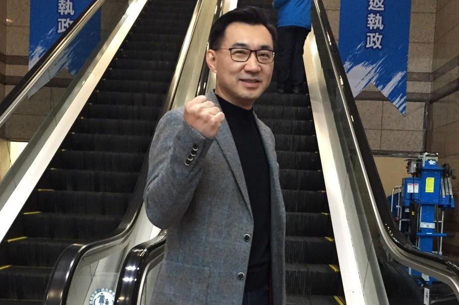 江啟臣。 記者徐兆玄/攝影