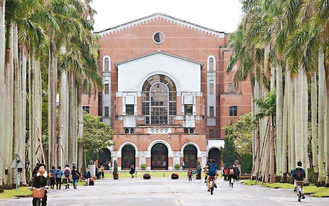 台灣大學。聯合報系資料照