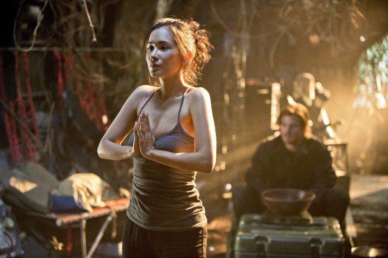 盧靖姍演過知名美劇「綠箭俠」。圖/擷自IMDb