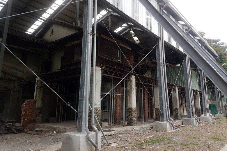「逍遙園」為日本皇族大谷光瑞於1940年代創建,高雄市府預計耗時3年修復。 圖/...