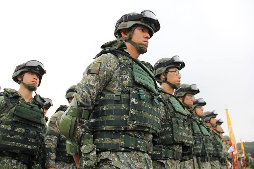 國軍聯勇操演部隊其實都是經過特別挑選,不是部隊戰力的真實呈現。 圖/聯合報系資料...
