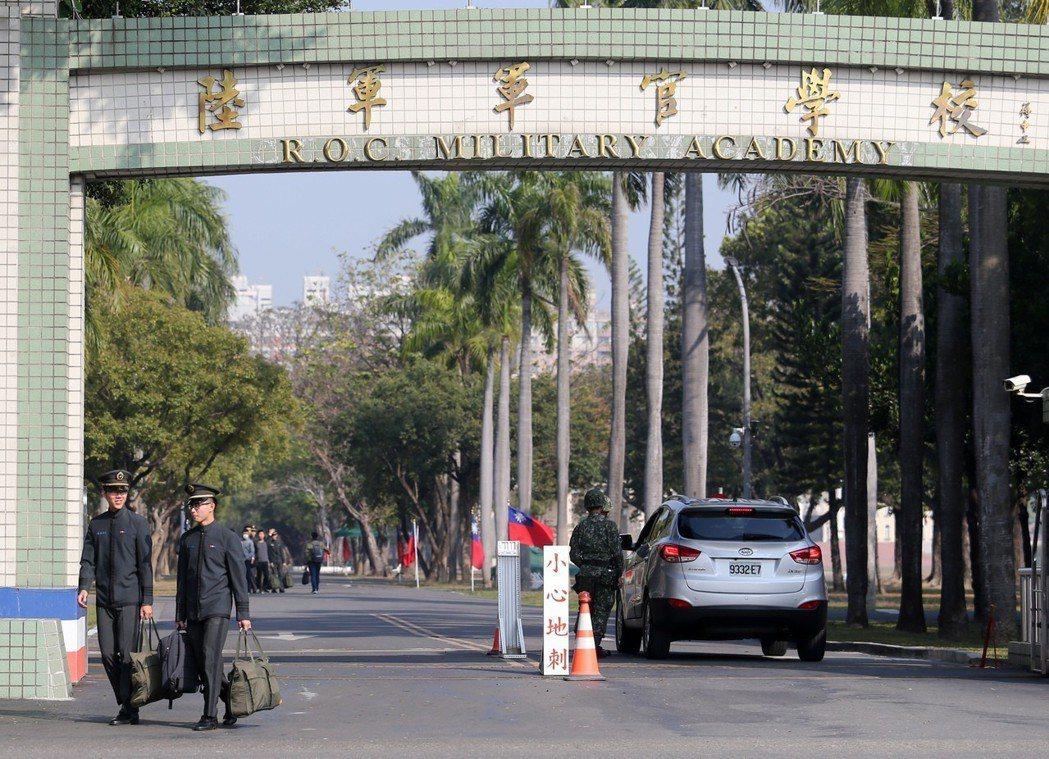 圖為位於高雄鳳山的陸軍官校。 記者劉學聖/攝影