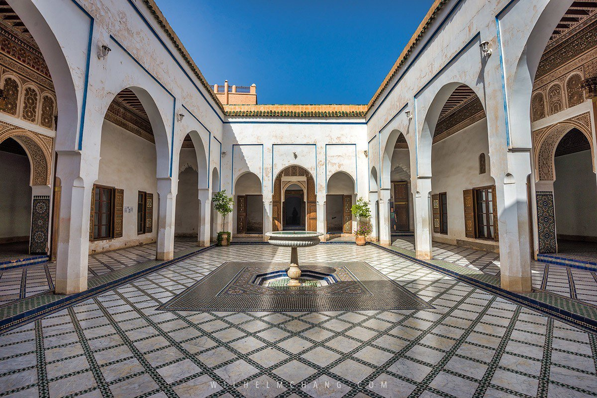 Palais de la Bahia巴伊亞王宮位於馬拉喀什,簇擁著眾多花園的一座...
