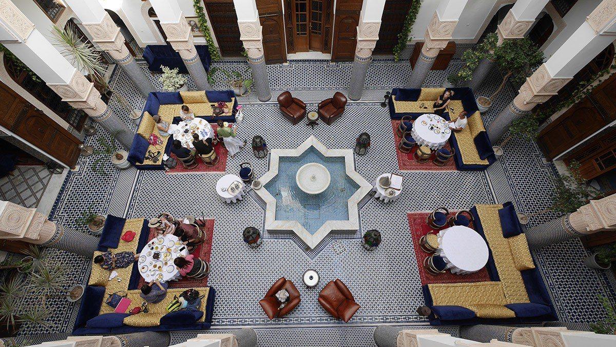 內行人在摩洛哥一定要入住傳統庭院住宅改建的Riad,真正走進摩洛哥人的生活。