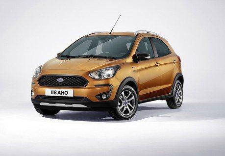 Ford發表KA+ Active小型跨界車 價格親民配備足