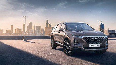 大改款第4代Hyundai Santa Fe 首批廠照曝光