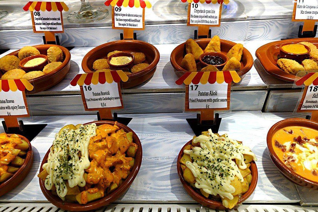 來到聖安東市場 (Mercado de San Antón),除能看到當地人食材...