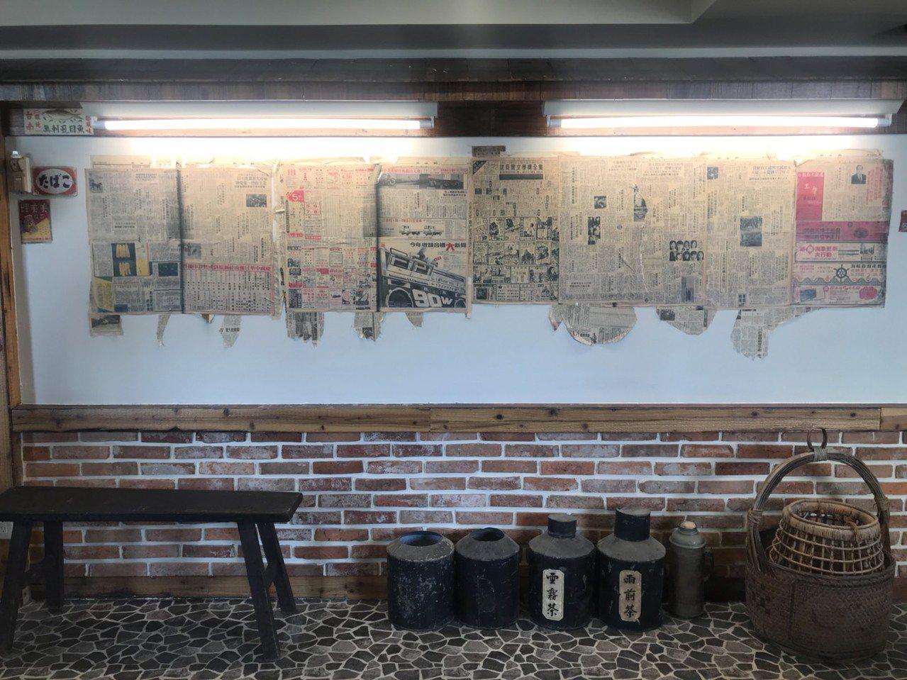 「真善美戲院」保留不少延平戲院的物品。記者綦守鈺/攝影