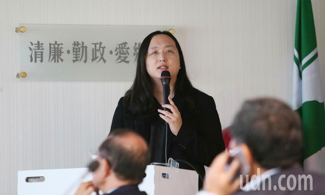 行政院政務委員唐鳳。聯合報系記者陳柏亨/攝影