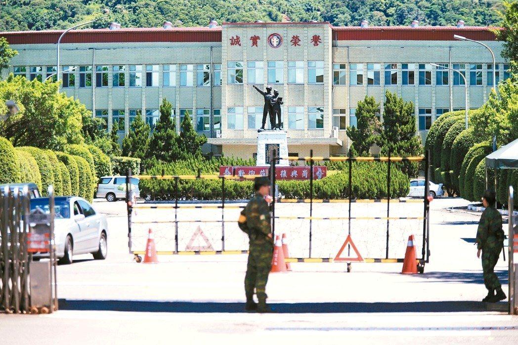 國防部長馮世寬日前無預警視導主掌國軍軍事教育的國防大學。聯合報系資料照片
