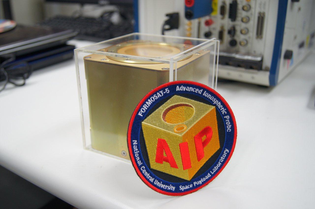 「太空魔方」在花蓮地震測得電離層異常。圖/中央大學提供