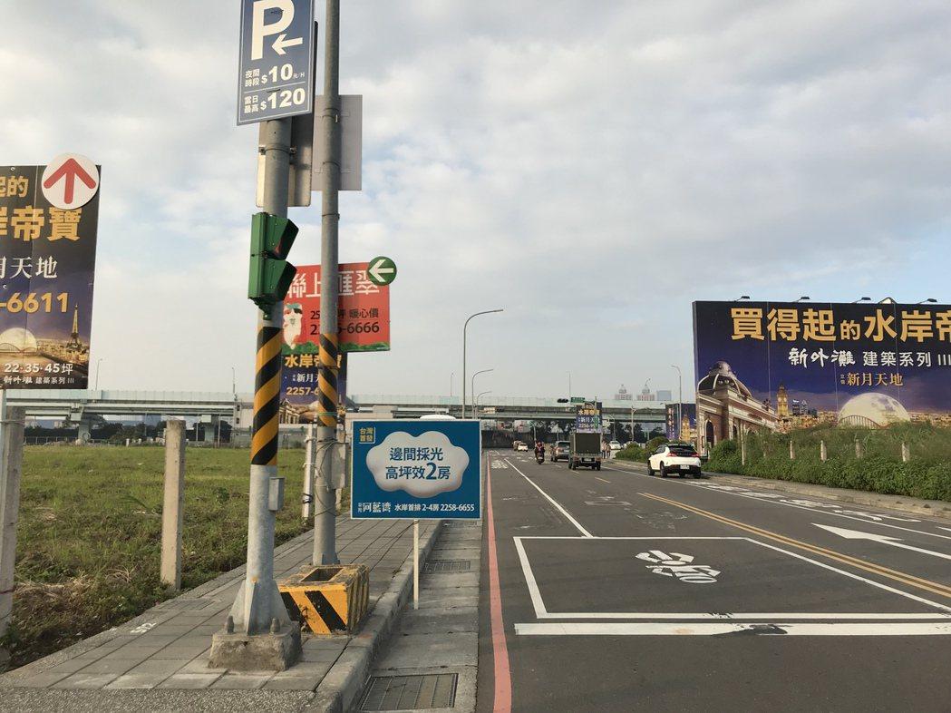 江翠北側重劃區 記者游智文/攝影