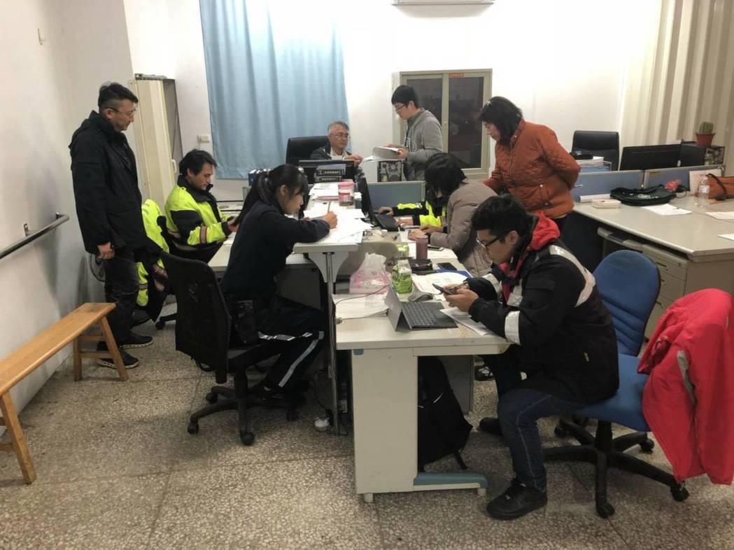警方成立尋人特蒐隊有效降低失聯人數。圖/警方提供