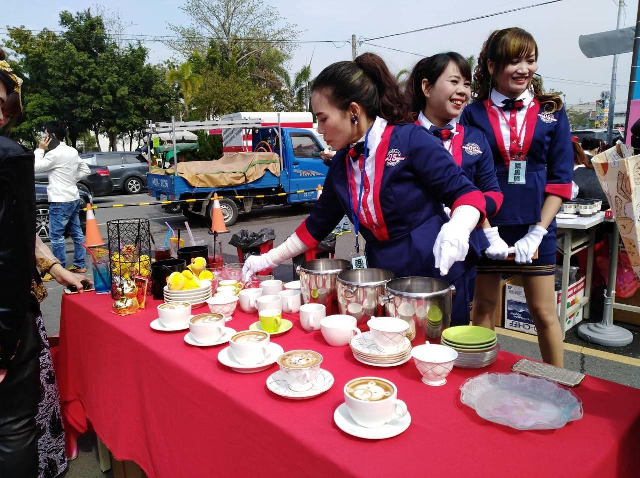 勞動部勞動力發展署雲嘉南分署為培養待業民眾第二專長,舉辦「飲料調製暨國際咖啡師認...