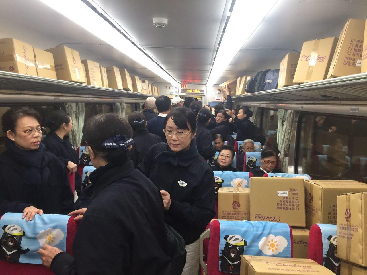 慈濟基金會動員千名志工協助花蓮強震救災。圖/慈濟基金會提供