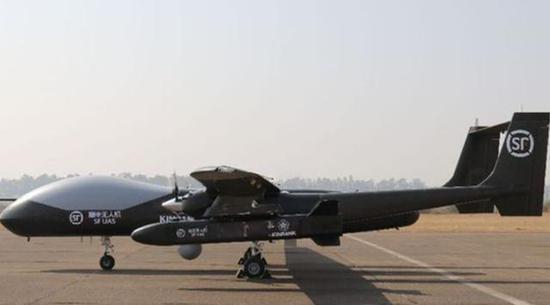 順豐金司的大型無人機。(新浪軍事網)