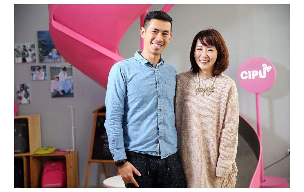 周品妤的老公3年前也加入喜舖,夫妻共同打拼事業。記者徐兆玄/攝影