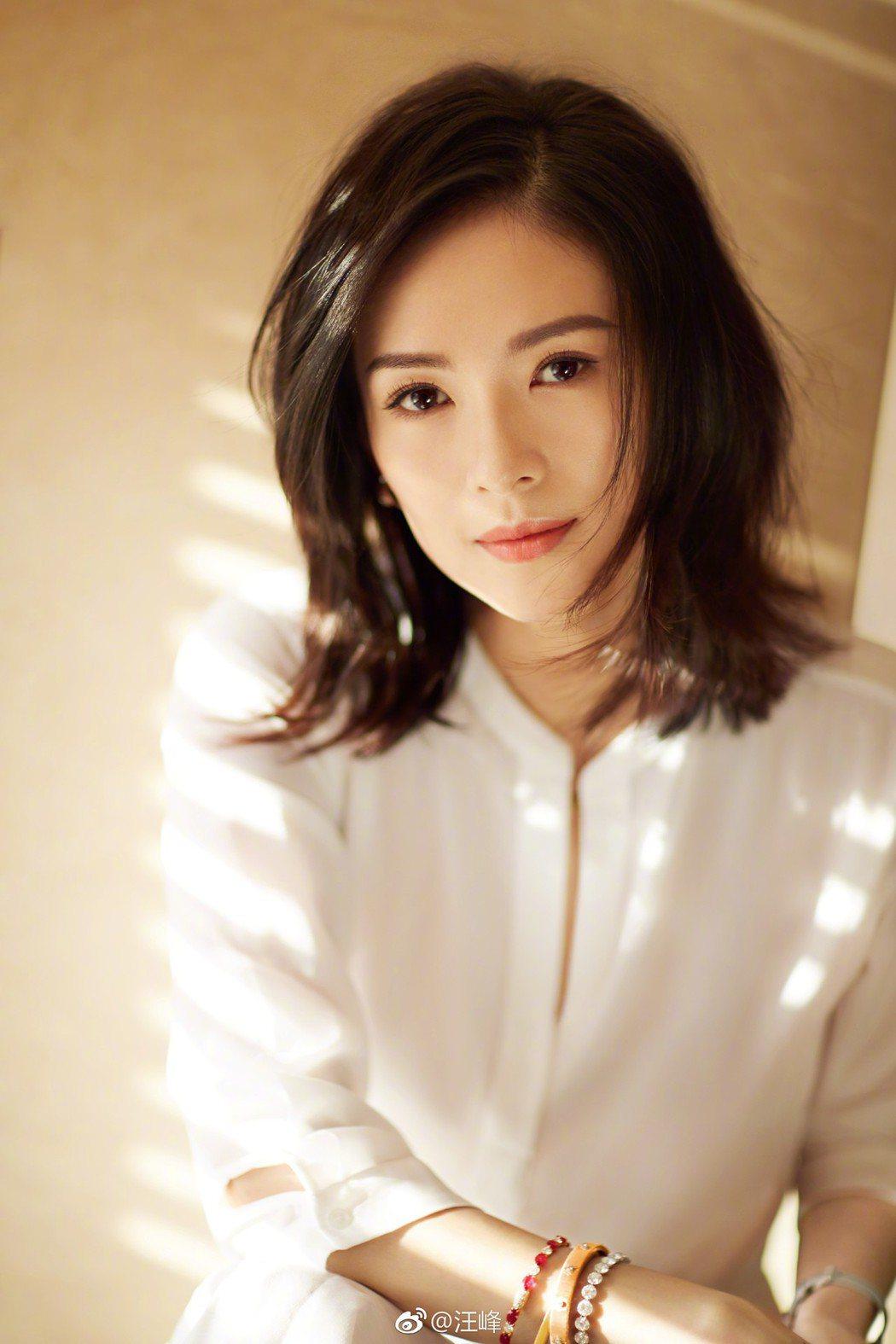 章子怡39歲生日收到來自另一半的祝福。圖/摘自微博