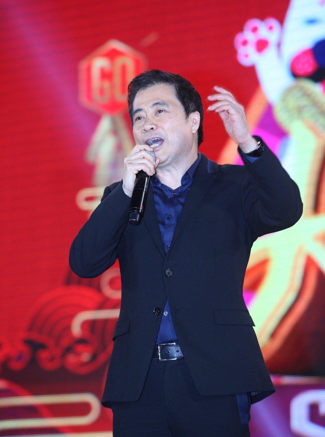 三立總經理張榮華發豪語砸10億拍台劇。記者陳瑞源/攝影