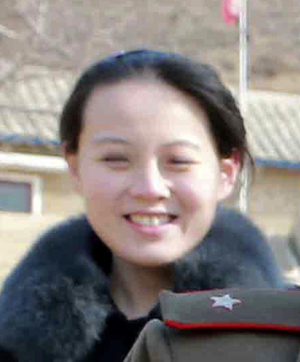 北韓領袖金正恩的胞妹金與正將與南韓總統文在寅共進午餐。(美聯社)