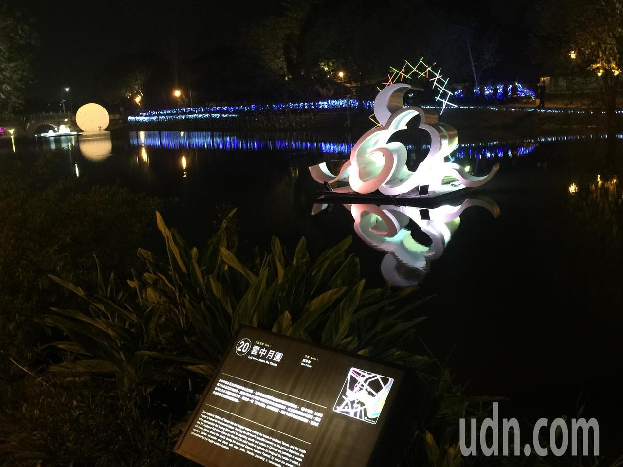 月津港燈節明晚啓燈。記者吳政修/攝影