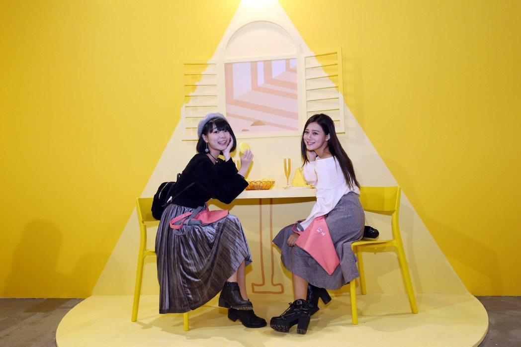 朝氣活力的黃色早餐店為必拍展間之一。 圖/聯合數位文創提供