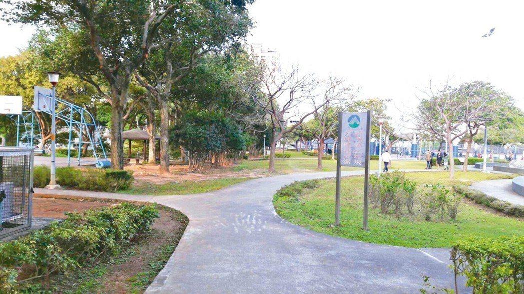 陽明公園,距桃園火車站5分鐘車程,是桃園熱門的公園宅。 台灣房屋/提供