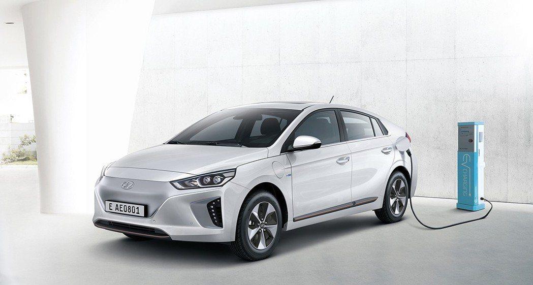 圖為Hyundai Ioniq EV。 摘自Hyundai