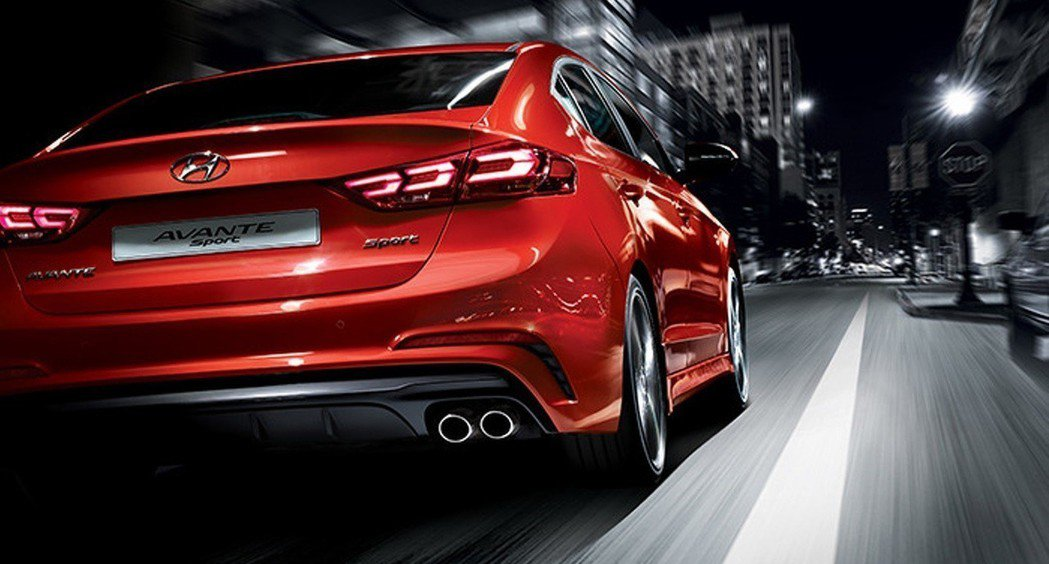圖為Elantra(Avante) Sport。 摘自Hyundai