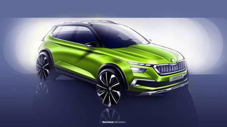 ŠKODA第三款SUV Vision X Concept即將登陸日內瓦車展